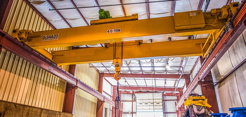 40 Ton Transport Crane